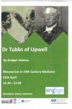 Wisbech Library: Engage in the morning - Dr Tubbs of Upwell
