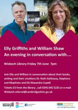 An evening in conversation with Elly Griffiths & William Shaw.