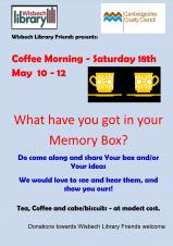 Coffee Morning and Book Sale