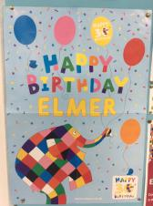 Celebrate Elmer's 30th birthday with a storytime and crafts