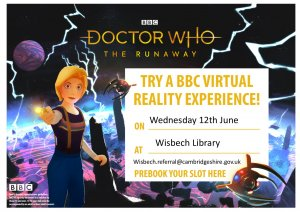 Dr Who VR experience