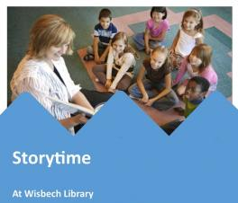 Saturday Storytime at Wisbech Library