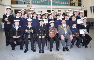 Wisbech Mayor Presents Award at annual Sea Cadets Presentation Evening