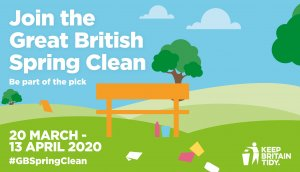 Join Fenland's litter heroes for Great British Spring Clean!