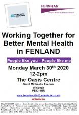 Working Together for Better Mental Health in FENLAND