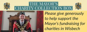 Wisbech Mayor, Cllr Aigars Balsevics, outlines his chosen charities