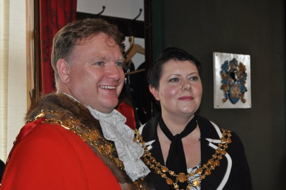 Cllr Steve and Mrs Marie Tierney, Mayor and Mayoress of Wisbech 2017-2018