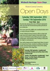 Heritage Open days - Wisbech General Cemetery