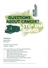 Questions about cancer - information bus
