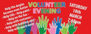 Volunteers evening at The Angles Theatre