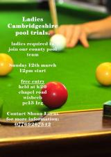 Ladies Pool Trials