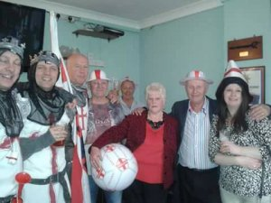 St George's Day at the Ex-Services Club