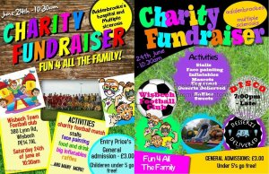 Charity Fundraiser at Wisbech Town Football Club