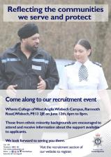 Cambridgeshire Police Recruitment Event