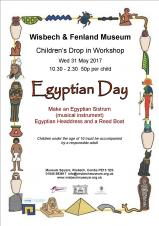 Egyptian Day at Wisbech & Fenland Museum