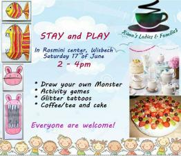 STAY & PLAY at the Rosmini Centre