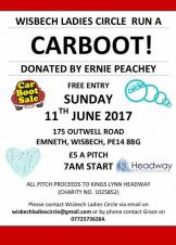 Wisbech Ladies Circle Car Boot
