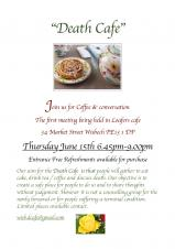 Pop-up Death Cafe at Loafers Cafe
