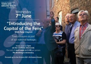 Town & Around Walks Summer 2017 - Introducing the Capital of the Fens