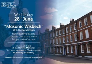 Town & Around Walks Summer 2017 - Masonic Wisbech