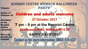 🎃👻🕷️🕸️🦇 Halloween Party at the Rosmini