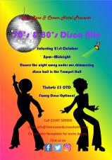 70's and 80's disco night CANCELLED