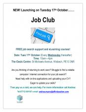 Job Club  FREE job search support and eLearning courses
