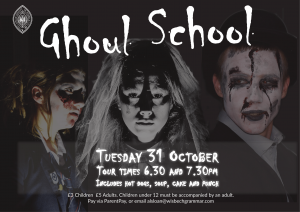 🎃👻🕷️🕸️🦇 Ghoul School at Wisbech Grammar SOLD OUT