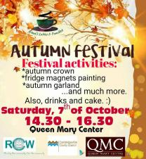 Autumn Festival - activities and food