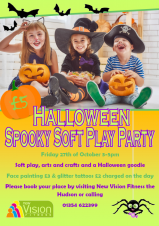 🎃👻🕷️🕸️🦇 Spooky Soft Play Party at the Hudson
