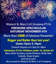 🎆🎇 Wisbech St Mary Fireworks display 🎆🎇