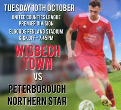 Wisbech Town vs Peterborough Northern Star