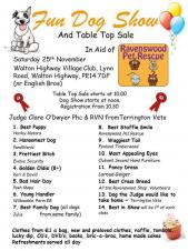 🐶🐕🐩 Fun Dog Show and Table-Top Sale - Walton Highway