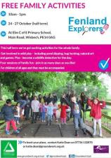 Half Term Family Activities with Fenland Explorers 🐛🐞🐜🕷️