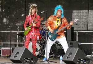 Seventies fancy dress night at The Rift with GLAM SLAM GLITZ